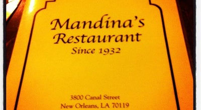 Photo of Italian Restaurant Mandina's at 3800 Canal St, New Orleans, LA 70119, United States