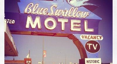 Photo of Motel The Blue Swallow Motel at 815 E Route 66 Blvd, Tucumcari, NM 88401, United States
