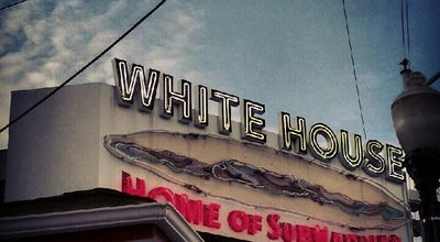 Photo of American Restaurant White House Sub Shop at 2301 Arctic Ave, Atlantic City, NJ 08401, United States