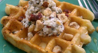 Photo of American Restaurant Sweet Iron Waffles at 1200 3rd Ave, Suite 110, Seattle, WA 98101, United States