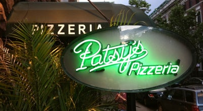 Photo of Italian Restaurant Patsy's Pizzeria at 61 W 74th St, New York, NY 10023, United States