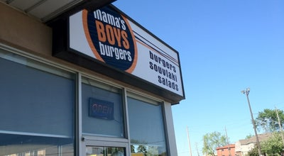 Photo of American Restaurant Mama's Boys Burgers at 480 Danforth Rd, Toronto M1K 1C6, Canada