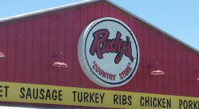 Photo of BBQ Joint Rudy's BBQ at 7970 Gateway Blvd E, El Paso, TX 79907, United States