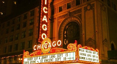 Photo of Theater The Chicago Theatre at 175 N. State Street, Chicago, IL 60601, United States