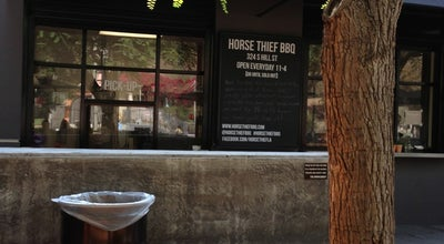 Photo of American Restaurant Horse Thief BBQ restaurant at 324 S Hill St, Los Angeles, CA 90013, United States