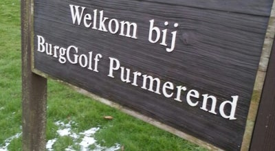 Photo of Golf Course Burggolf at Westerweg, 60, Purmerend 1445AD, Netherlands