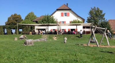 Photo of Swiss Restaurant Auberge Du Chalet Des Enfants at Route Du Chalet-des-enfants, Le Mont-sur-Lausanne 1052, Switzerland