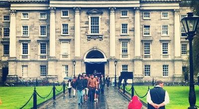 Photo of University Trinity College at College Green, Dublin 2, Ireland