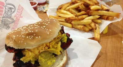 Photo of Burger Joint Johnnie's Charcoal Broiler at 6629 Nw Expressway, Oklahoma City, OK 73132, United States