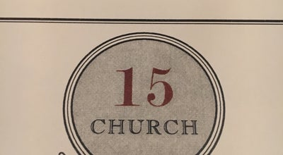 Photo of American Restaurant 15 Church Restaurant at 15 Church St, Saratoga Springs, NY 12866, United States