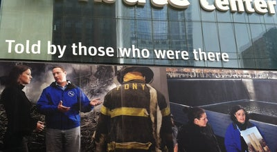 Photo of Arts and Entertainment 9/11 Tribute Center at 120 Liberty St, New York, NY 10006, United States