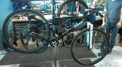 Photo of Cafe Angry catfish bike shop and coffee bar at 4208 28th Ave S, Minneapolis, MN 55406, United States