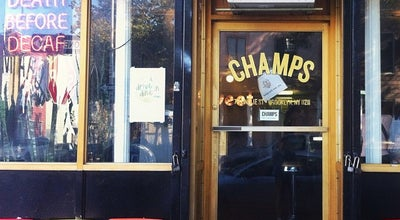 Photo of American Restaurant Champs Diner at 197 Meserole St, Brooklyn, NY 11206, United States