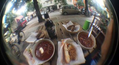 Photo of American Restaurant Hot-Dog-Soup at Gruenberger Str. 69, Berlin 10245, Germany