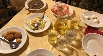Photo of Italian Restaurant Trattoria Der Pallaro at Largo Di Pallaro, Rome 00186, Italy