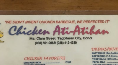 Photo of BBQ Joint Chicken Ati-atihan at Tagbilaran City, Central Visayas, Philippines