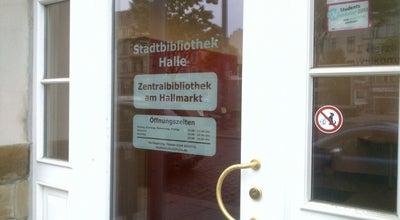 Photo of Library Stadtbibliothek Halle at Salzgrafenstraße 2, Halle 06108, Germany