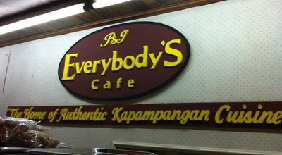Photo of Coffee Shop Everybody's Cafe at Del Pilar, Macarthur Highway, San Fernando 2000, Philippines
