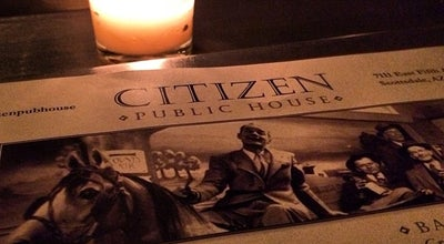 Photo of American Restaurant Citizen Public House at 7111 E 5th Ave Ste E, Scottsdale, AZ 85251, United States