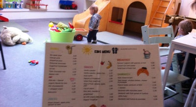 Photo of Restaurant Blender Kids Conceptstore & Cafe at Ruysdaelstraat 9-11-13, Amsterdam 1071 WX, Netherlands