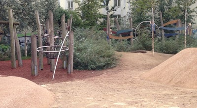Photo of Playground Trampolinspielplatz at Hufelandstr., Berlin, Germany