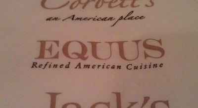 Photo of American Restaurant Equus Restaurant INC at 122 Sears Avenue, Louisville, KY 40207, United States