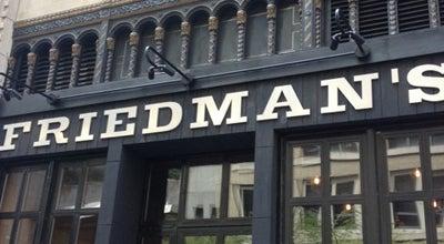 Photo of American Restaurant Friedman's at 132 W 31st St, New York City, NY 10001, United States