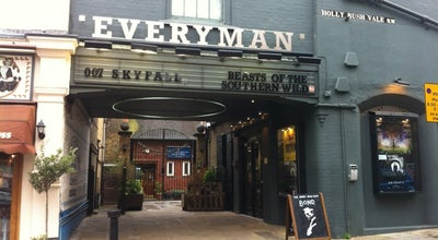 Photo of Tourist Attraction Everyman Cinema Hampstead at 5 Holly Bush Vale, London NW3 6TX, United Kingdom