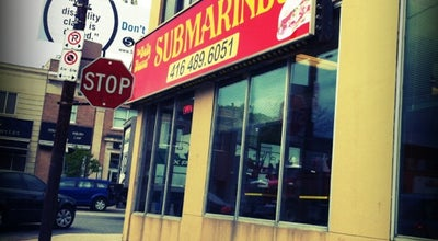 Photo of Sandwich Place The Belly Buster Submarines at 3447 Yonge St., Toronto, ON M4N 2N2, Canada