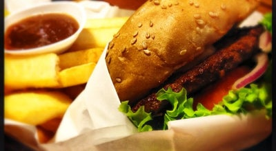Photo of American Restaurant Bergs Gourmet Burgers at 10 Haji Lane, Singapore 189203, Singapore