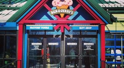Photo of Ice Cream Shop Ben & Jerry's at 1281 Waterbury-stowe Rd, Waterbury, VT 05676, United States