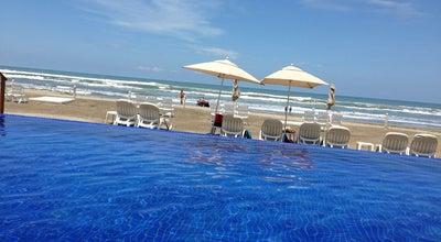 Photo of Beer Garden Marina Diamante Beach Club at Mexico