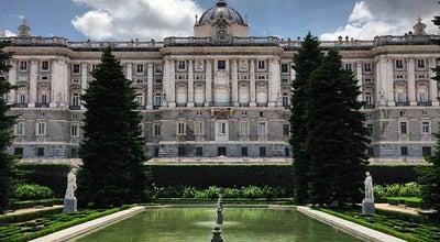 Photo of Botanical Garden Jardines de Sabatini at Calle Bailen S/n, Madrid 28013, Spain