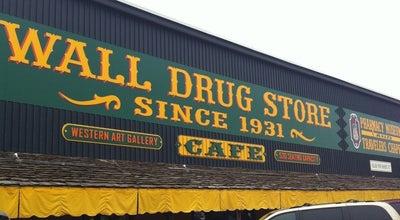 Photo of Mall Wall Drug at 510 Main St., Wall, SD 57790, United States