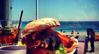 Photo of English Restaurant Gylly Beach Cafe at Gylly Beach Cafe Cliff Road, Falmouth TR11 4PA, United Kingdom