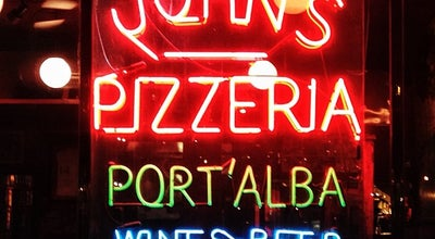 Photo of Italian Restaurant John's Pizzeria at 278 Bleecker St, New York, NY 10014, United States