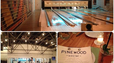Photo of American Restaurant Pinewood Social at 33 Peabody Street, Nashville, TN 37210, United States