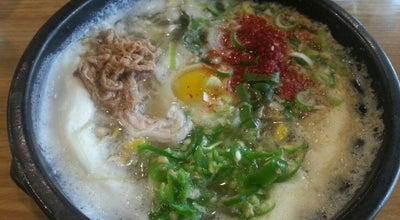 Photo of Korean Restaurant 삼백집 at 송파구 석촌호수로 240, 서울특별시 138-844, South Korea