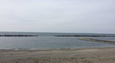 Photo of Beach 瀬波海岸 at 瀬波, 村上市, Japan