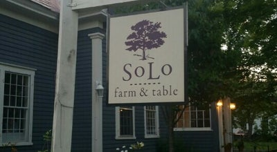 Photo of New American Restaurant SoLo Farm & Table at 95 Middletown Rd, South Londonderry, VT 05155, United States