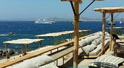 Photo of Mediterranean Restaurant Scorpios Mykonos at Παράγκα, Paraga 84600, Greece