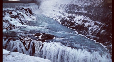 Photo of Outdoors and Recreation Gullfoss at Biskupstungnabraut, Gullfoss 810, Iceland