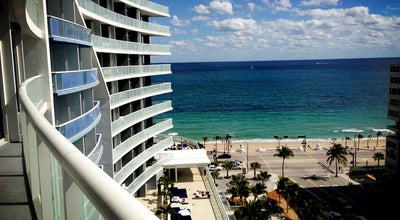 Photo of Hotel W Fort Lauderdale at 401 North Fort Lauderdale Beach Boulevard, Fort Lauderdale, FL 33304, United States