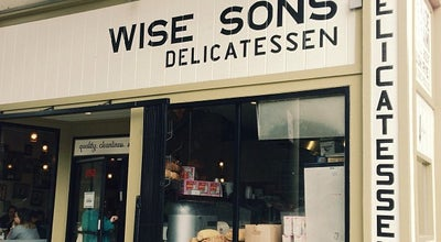 Photo of American Restaurant Wise Sons Jewish Delicatessen at 3150 24th St, San Francisco, CA 94110, United States