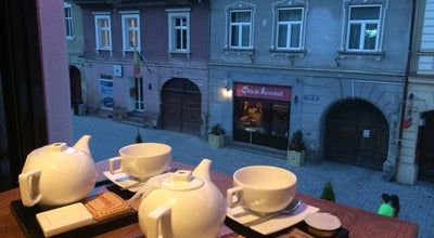 Photo of Cafe The Tea Lounge Open Heart at Strada Weiss Michael 18th, Brasov 500031, Romania