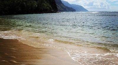 Photo of Beach Ke'e Beach at Highway 560 Kauai, Kauai, HI 96716, United States