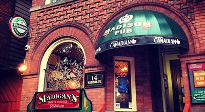 Photo of Bar Madison Avenue Pub at 14 Madison Ave, Toronto, ON M5R 2S1, Canada