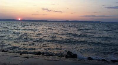 Photo of Beach Siófok Aranypart at Aranypart, Siofok, Hungary