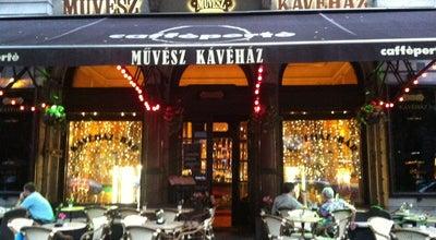 Photo of Cafe Művész Kávéház at Andrassy Ut 29, Budapest 1061, Hungary