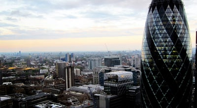 Photo of Modern European Restaurant City Social Restaurant at Tower 42, 25 Old Broad Street, London EC2N 1HQ, United Kingdom